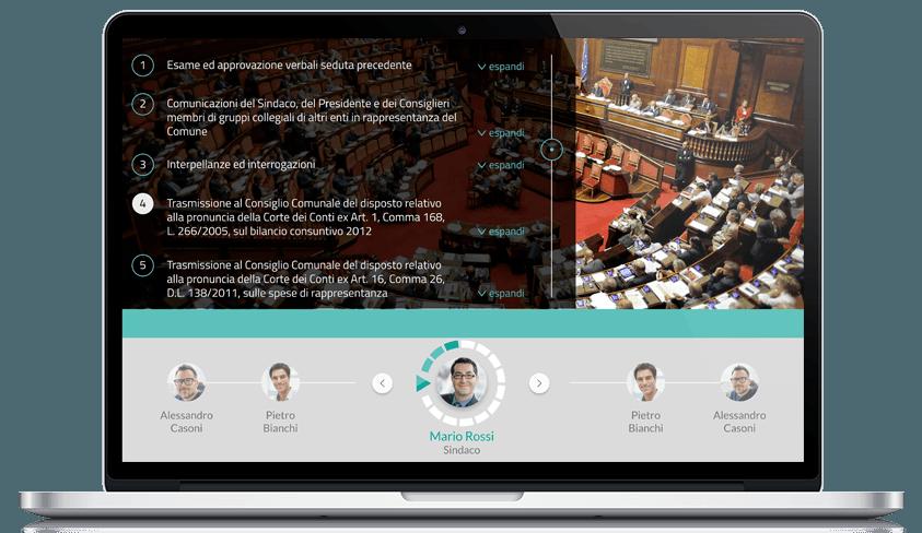 Diretta streaming del Consiglio comunale: 4 idee _indicizzazione-mac