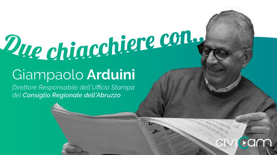 Come creare una diretta streaming di successo per le PA? Ce ne parla Giampaolo Arduini, direttore dell'ufficio stampa del Consiglio Regionale dell'Abruzzo