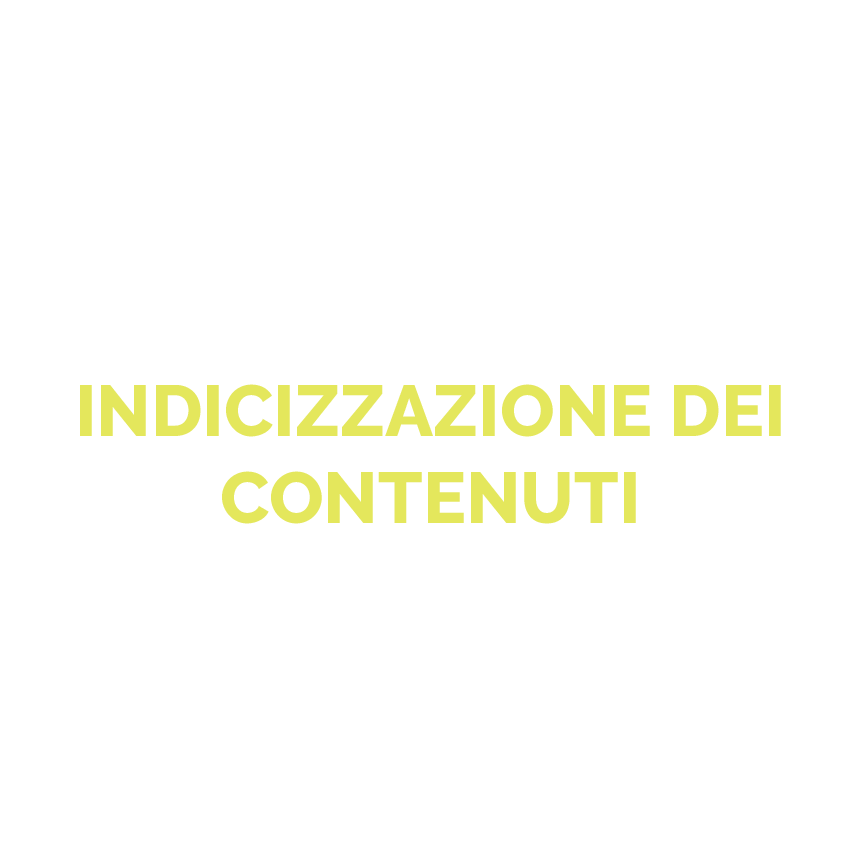 Indicizzazione dei contenuti icona