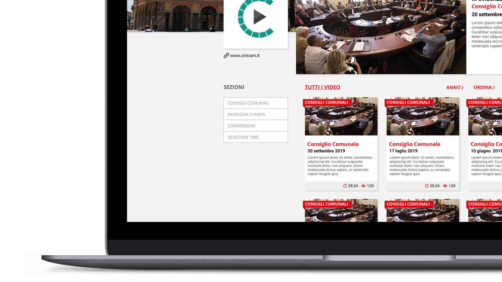 2. Sei idee originali per usare le Sezioni e dare visibilità alla diretta | CiviCam