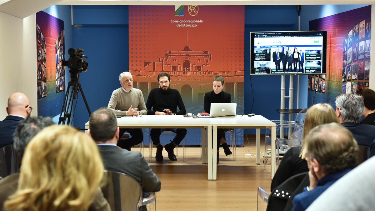 L'Ufficio Stampa del Consiglio Regionale dell'Abruzzo sceglie CiviCam per creare il nuovo portale web e per trasmettere le dirette del Consiglio.