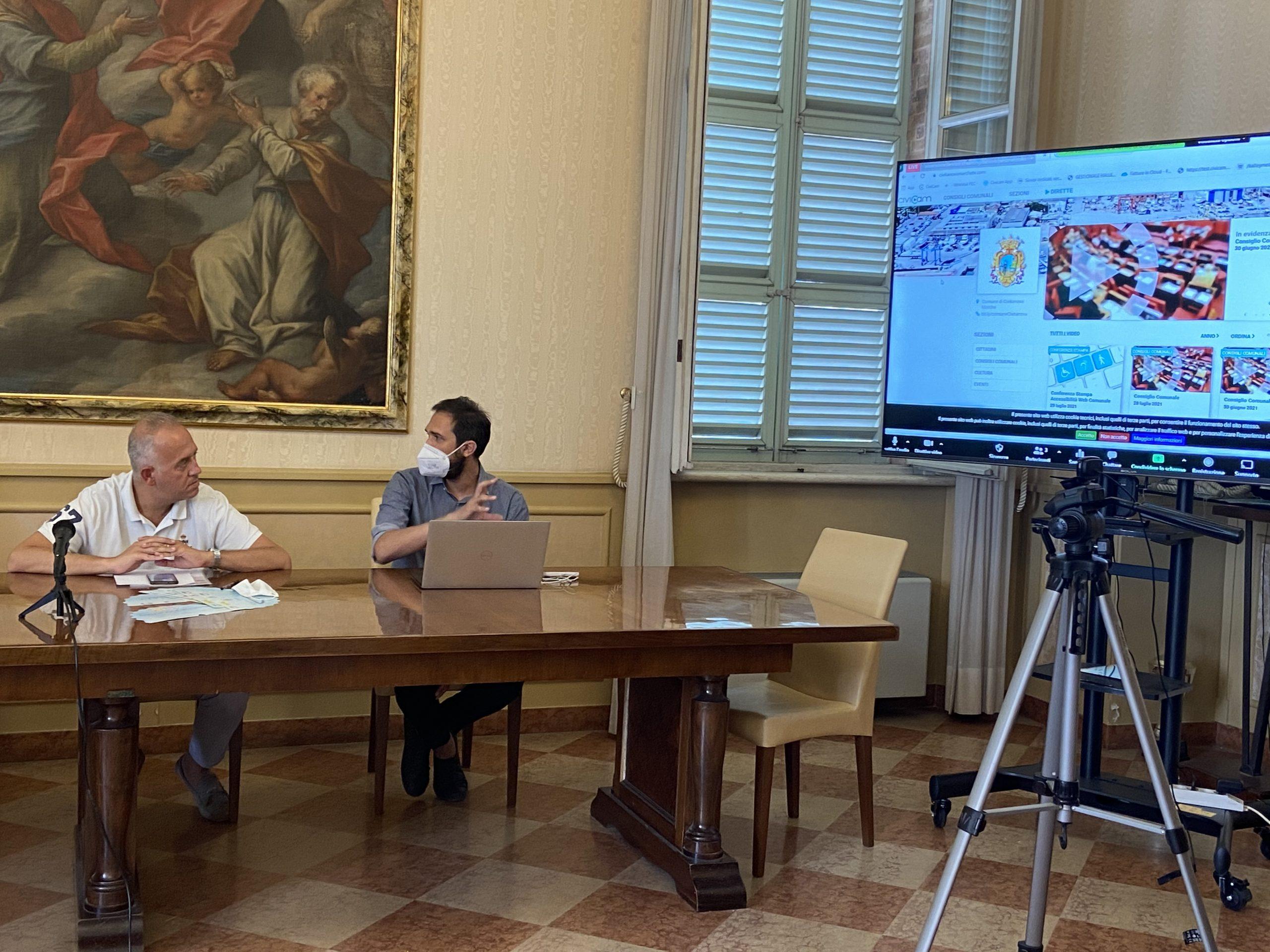 Il Comune di Civitanova Marche sceglie la sottotitolazione di CiviCam per una maggiore accessibilità ai contenuti della sua web Tv.
